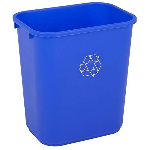 (Highmark Office Depot Recycling Bin, 7 Gallons, Blue, WB0188)