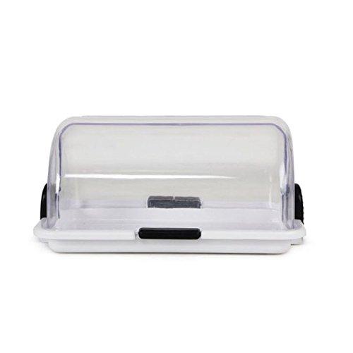 Aditya Infotm Butter Box With Lid, Plastic, Multicolour