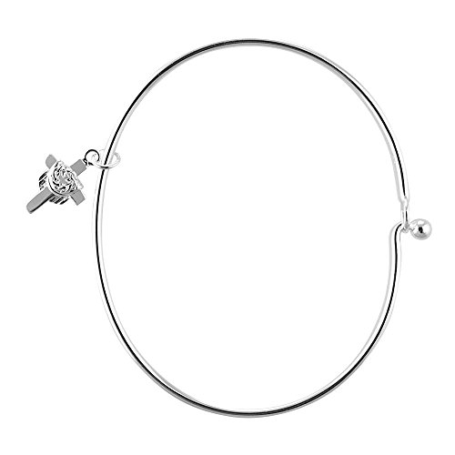 Women girl Silver Plated Neck Chic ( Silver )- - 7