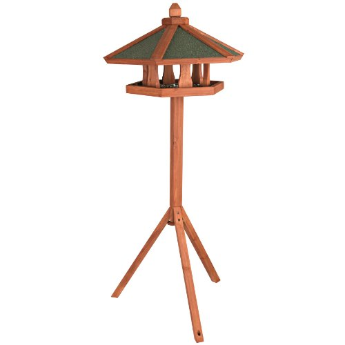 Trixie Pet Products Wooden Bird Feeder Gazebo with Stand by TRIXIE Pet Products