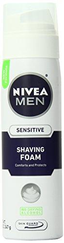 Nivea Men Rasage Sensitive Mousse, 8,7 once (Pack de 3)