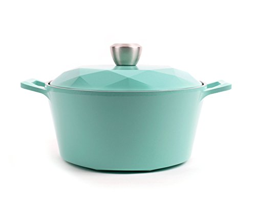 Neoflam Carat 4QT Ceramic Nonstick Stockpot with Oven-Saf...