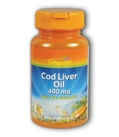 (Cod Liver Oil High Potency Thompson 60 Tabs by Thompson)