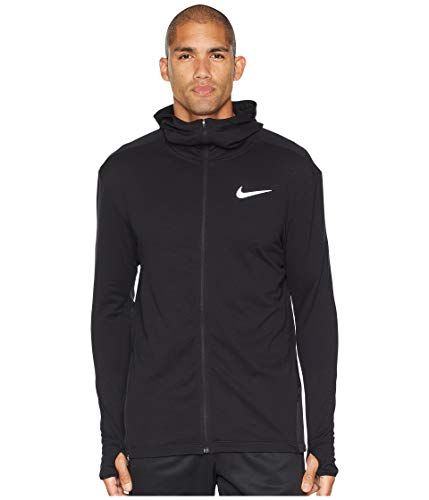 NIKE Sphere Element 2.0 Men's Full-Zip Running Hoodie (Black, X-Large)
