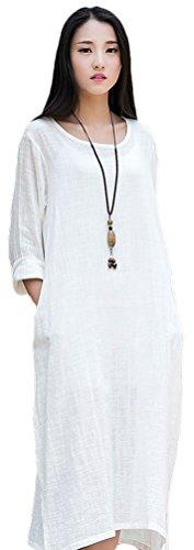 Soojun Womens Essential Cotton Dresses