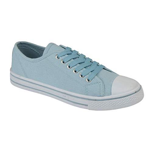 Tela Baby Stringate Sneaker 13 In Casual Da All Ladies Taglia Scarpe Pompe Baltimore Star academy nbsp;nbsp;8 Low Puntale Blue Ginnastica YqWSURg