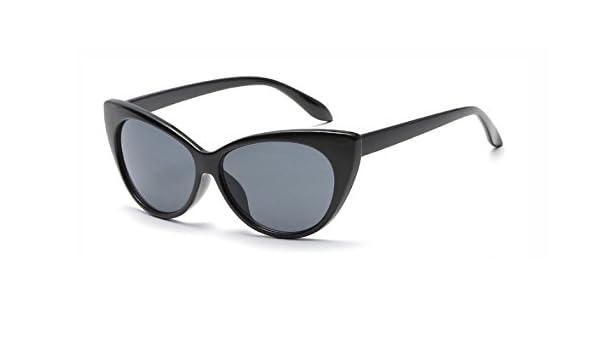 61bc47338f Hykis - Vendimia Gato de Las Mujeres Gafas de Sol del Ojo Espejo Mujeres  Retro Cateye los vidrios de Sun Shades Capšªtulo de la PC Se?ora Gafas  Oculos ...