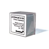 Cubreobjetos de Microscopio Levenhuk G100 para Preparar Su
