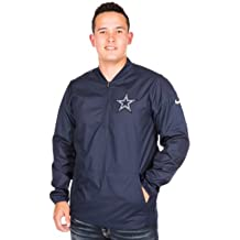Dallas Cowboys Nike Lockdown Half-Zip Jacket