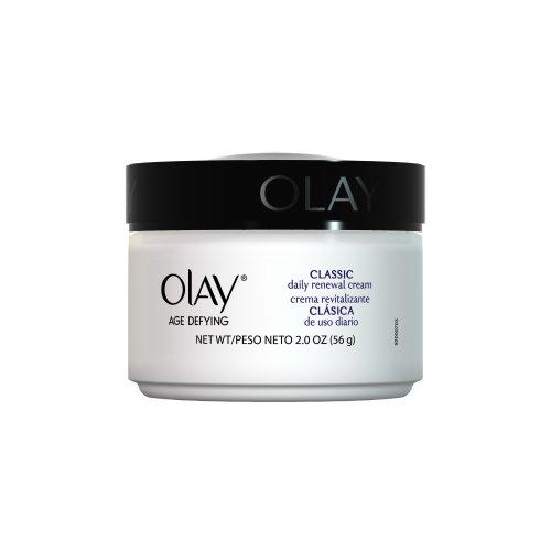 Anti-âge Olay Hydratant Quotidien Renouveau Crème Visage, 2 once (Pack de 2)