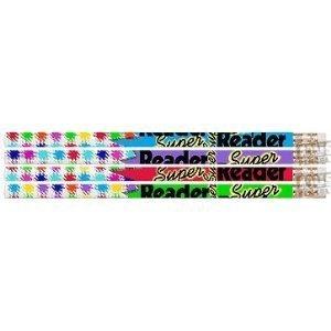 Super Reader Reward Pencils - D2339 Super Reader - 144 Reading Award Pencils