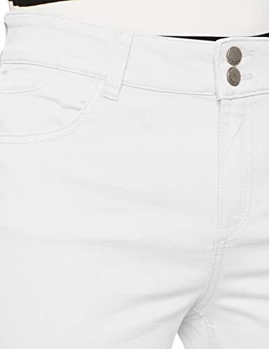 Mujer blanco 100 By Blanco Esprit Para Edc Pantalones qIwYxP6