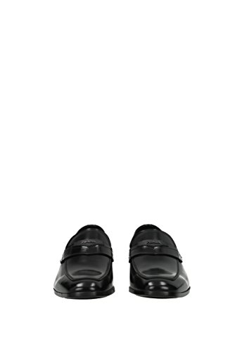 Prada Men's Loafer Flats * Black 7p593KJ