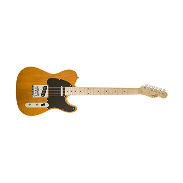 Fender Squier Affinity Telecaster, Butterscotch Blonde, Maple Fingerboard
