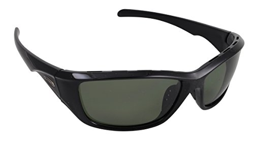 Sea Striker Day Tripper Polarized Sunglasses with Black Frame Grey Lenses, - 221 Sunglasses