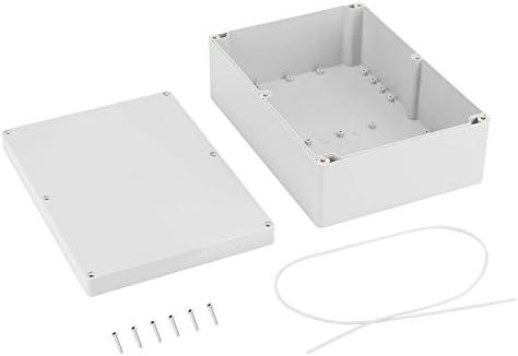 Akozon Caja de empalmes exterior, caja de conexiones impermeable ...