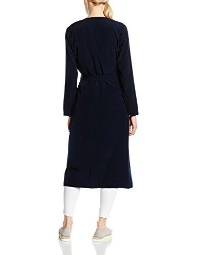 Abrigo Azul Long Lizzy Otw Coat Mujer Onlnew Only para qOE8XX