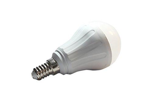 Aigostar Bombilla LED A55 de 6W, Rosca pequeña y luz fría E14: Amazon.es: Iluminación