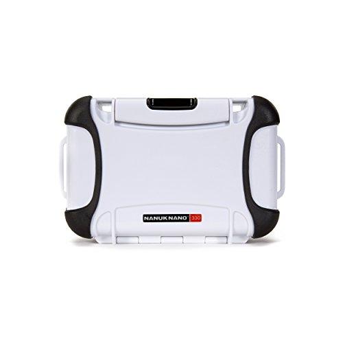 Nanuk 330-0012 Nano Series Waterproof Large Hard Case for Phones, Cameras and Electronics (White)