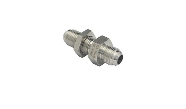 7//16-20 Thread Midland 0306-4 Shapes Steel Flare 37degree Bulkhead Fittings Lock Nut