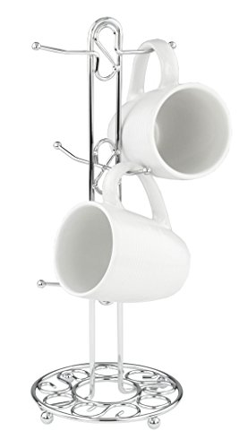 chrome coffee mug tree - 1