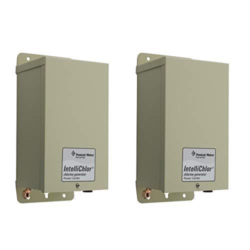 - Pentair Intellichlor IC20 IC40 IC60 Salt Chlorinator Power Supply Center, 2 Pack