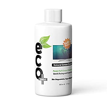 Ecomoist - Kit de limpieza de pantalla natural (500 ml) para televisor, LCD