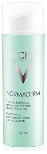 Vichy Normaderm Beautifying Anti Acne Treatment, Facial Lotion with Salicylic Acid 1.69 Fl. Oz