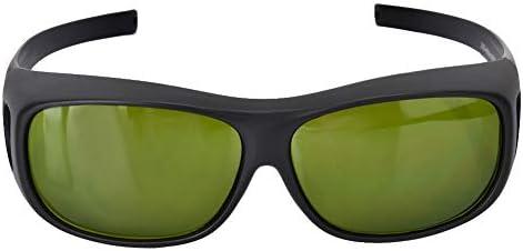 保護メガネ 青い保護ゴーグル 安全メガネ 放射線/高強度光 保護メガネ