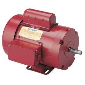 1/2 hp 1725rpm 56 Frame TEFC (Farm Duty) 115/208-230 volts Leeson Electric Motor # 110086
