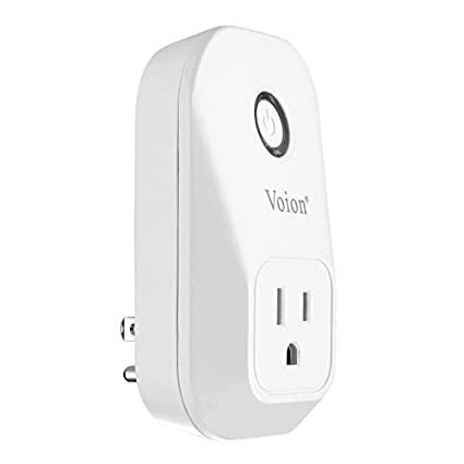 Voion Smart Plug, Wi-Fi Smart Socket Outlet, UL Listed