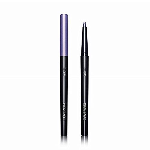 2 PACK COVERGIRL Ink It! By Perfect Point Plus Waterproof Eyeliner Violet Ink 265, .006 oz