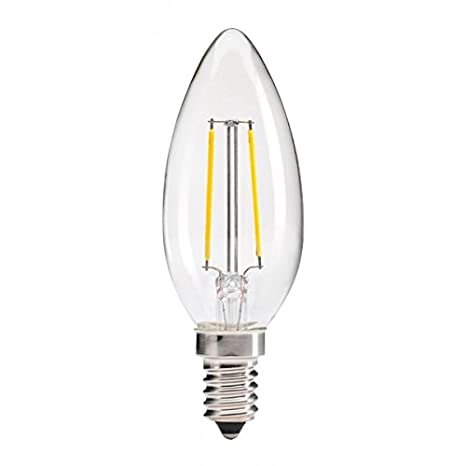 Bombilla LED E14 2W X4 Pack Bombilla filamento LED Bombilla Edison: Amazon.es: Iluminación