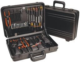 XCELITE TCMB150ST 46-PC. TOOL KIT WITH ATTACHE STORAGE CASE