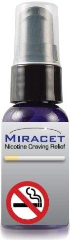 Système Miracet Arrêter de fumer entièrement naturel, homéopathique arrêter de fumer maintenant! 1 mois d'approvisionnement