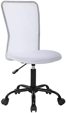 Ergonomic Office Chair High Back Mesh Desk Chair High backrest Armless Swivel Chair Height Adjustable Drafting Chair