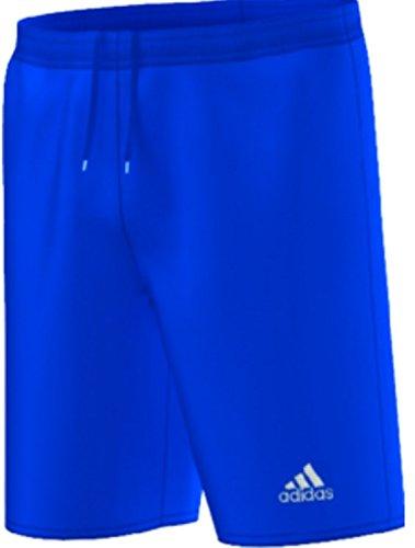 adidas Youth Parma 16 Shorts, Bold Blue/White, Large