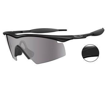 Oakley M Frame Strike Industrial Safety Glasses Black Frame w/Gray - Oakley Safety Glasses
