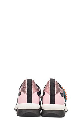 Fendi Zapatillas Para Mujer Negro/Rosa It - Marke Größe