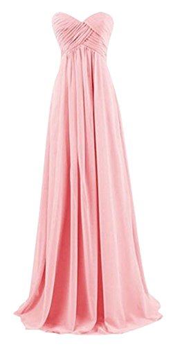 Drasawee Kleid Pink Rosa Damen Bandeau xq0UwqzTg
