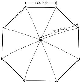 Folding Umbrella Rainproof /& Windprrof Umbrella Butterfly Custom Umbrella Automatic