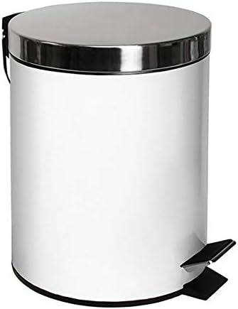 Stainless Steel Mirror Finish Pedal Bin Bathroom Kitchen Waste Rubbish Bin