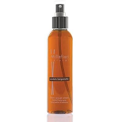 Sandalwood Bergamot Scent Millefiori Milano Home Fragrance Spray