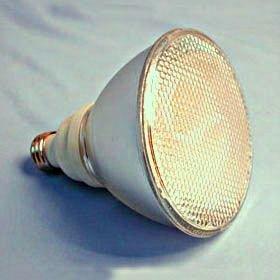 TCP PF3823 CFL PAR38 - 90 Watt Equivalent (23W) Soft White (2700K) PAR Flood Light Bulb