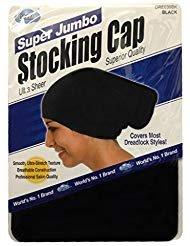 (Dream Super Jumbo Ultra-Stretch Stocking Cap BLACK DRE039BK)