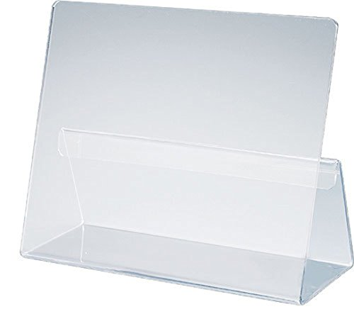 Classic Cookbook Holder - Simple Elegant Clear Acrylic - Made in the USA (Acrylic Cookbook Stand compare prices)