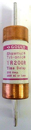 Gould Shawmut TR200R 200A 250V Tri-onic Fuse New (Tri Fuse Onic)