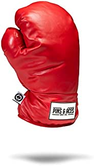 Pins & Aces Boxing Glove Driver Head Cover - Premium, Hand-Made Classic Boxing Glove 1W Headcover - Funny,