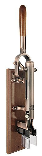 (Professional Wall-Mounted Corkscrew with Wood Backing BOJ (Old Coppered))