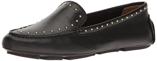 Calvin Klein Donna Lolly Slip-on Mocassino In Pelle Nera